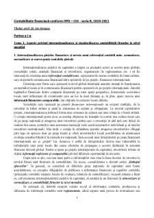 Contabilitate financiară conform IFRS - Pagina 1