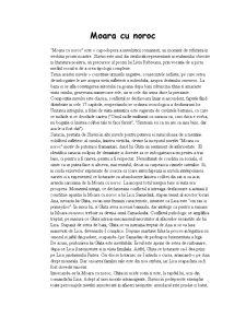 Moara cu Noroc - Pagina 1