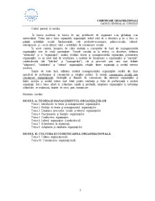 Comunicare Organizationala - SNSPA - Pagina 2