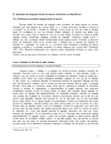 Diagnoza Instituțională a Fenomenului Mobilității Forței de Muncă Românești în Spațiul European - Pagina 5