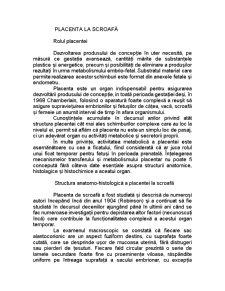 Placenta la Scroafă - Pagina 1