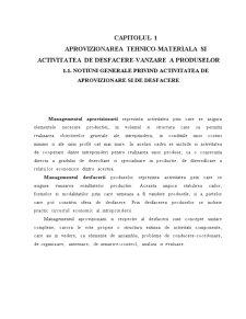 Realizarea unui Subsistem Informatic pentru Desfacerea Stocurilor de Marfuri la SC Dalia SRL - Pagina 5
