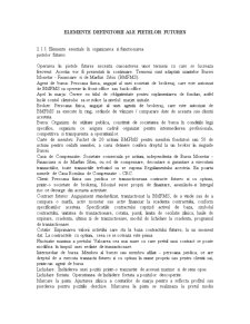 Elemente Definitorii ale Pietelor Futures - Pagina 1