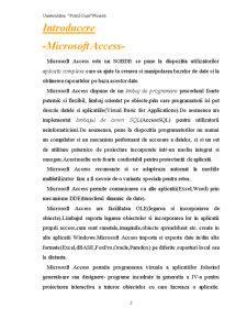 Proiect Access - Pagina 2