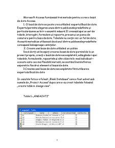 Modul Microsoft Access - Pagina 4