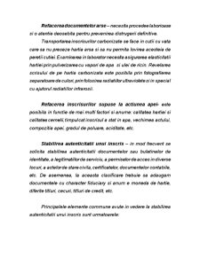 Cercetarea Criminalistica a Inscrisurilor, a Scrisului, a Falsului in inscrisuri si a altor categorii de falsuri - Pagina 3