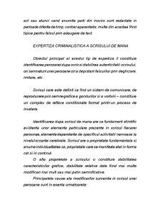 Cercetarea Criminalistica a Inscrisurilor, a Scrisului, a Falsului in inscrisuri si a altor categorii de falsuri - Pagina 5