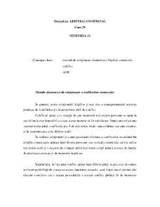 Arbitrajul - Medierea - Pagina 1