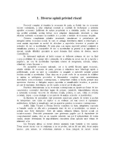 Riscul in Asigurari si Gestiunea Riscului - Pagina 2