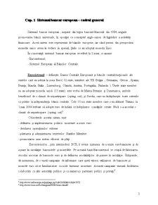 Sistemul Bancar European in Conditiile Monedei Unice - Perspectivele Pietei Bancare Unice Europene - Pagina 3