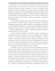 Protecția Drepturilor Omului - Pagina 5