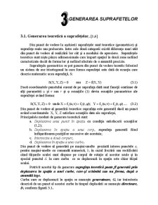 Bazele Aschierii si Generarii Suprafetelor I - Pagina 1
