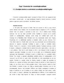 Controlul de Constitutionalitate al Legilor - Pagina 3