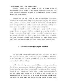 Controlul de Constitutionalitate al Legilor - Pagina 5
