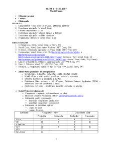 Programare pe Componente - Pagina 1