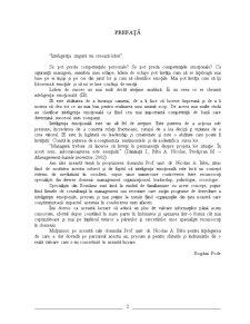 Conceptul de Inteligenta Emotionala in Managementul Organizatiilor - Pagina 3