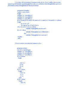 Limbajul Pascal - Pagina 2