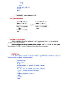 Limbajul Pascal - Pagina 3