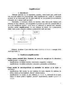 Amplificatoare - Pagina 1