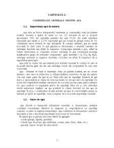 Poluanti ai Apelor de Suprafata si de Adancime, Monitorizarea Lor - Pagina 3