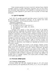 Poluanti ai Apelor de Suprafata si de Adancime, Monitorizarea Lor - Pagina 5