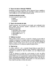 Tipuri Structurate - Turbo Pascal - Pagina 2