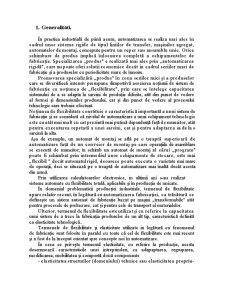Flexibilitatea Sistemelor de Fabricație - Pagina 3