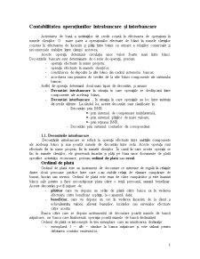Contabilitatea Operațiunilor Intrabancare și Interbancare - Pagina 1