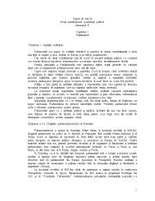 Suport de Curs la Drept Constitutional si Institutii Politice - Semestrul II - Pagina 1