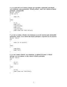 Programare C - Pagina 2
