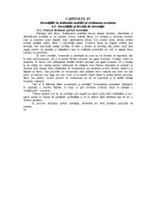 Investițiile în Industria Mobilei și Evaluarea Acestora - Pagina 1