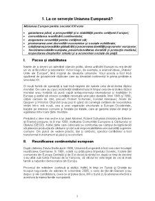 Politici ale Uniunii Europene - Pagina 3