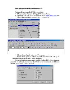Realizarea Site-urilor Web - Pagina 5