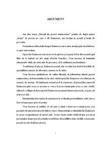 Direcții ale Prozei Eminesciene - Pagina 1