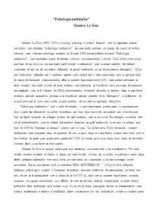 Recenzie - Psihologia Multimilor - Gustave Le Bon - Pagina 1