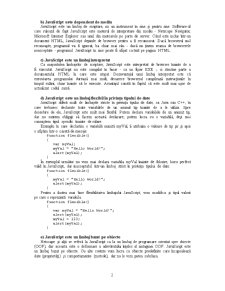 Javascript și World Wide Web - Pagina 2