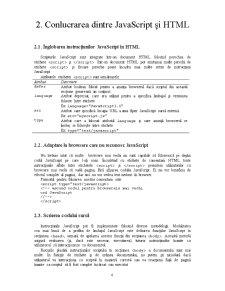 Javascript și World Wide Web - Pagina 4