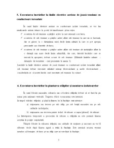Masuri de Securitate a Muncii pentru Executarea Lucrarilor la Liniile Electrice Aeriene din Exploatare - Pagina 5