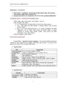 Sisteme de Gestiune a Bazelor de Date - Pagina 1