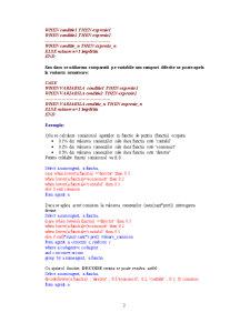 Sisteme de Gestiune a Bazelor de Date - 7 - Pagina 2