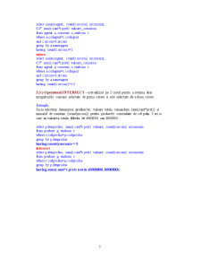 Sisteme de Gestiune a Bazelor de Date - 7 - Pagina 5