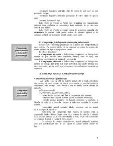 Prelegerea a V-a - Investirea Institutionala - Competenta Instantelor Judecatoresti - Pagina 5