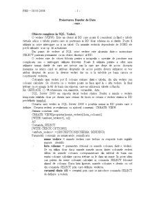 Proiectarea Bazelor de Date - Pagina 4