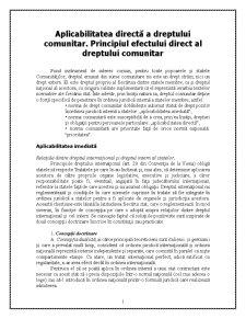 Caracteristicile Dreptului Comunitar - Pagina 1