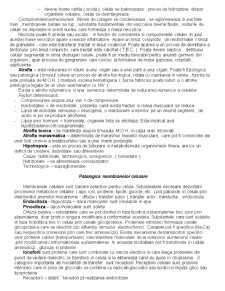 Patologie Celulara - Pagina 3