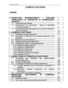 Comerțul Electronic - Pagina 1