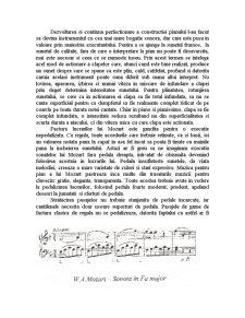 Stilul Mozartian in Interpretarea Pianistica - Pagina 3