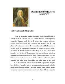 Domenico Scarlatti - Pagina 1