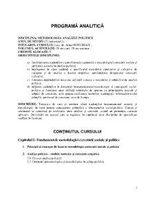 Metodologia Analizei Politice - Pagina 2
