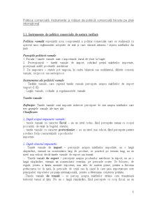 Politica Comercială - Pagina 1
